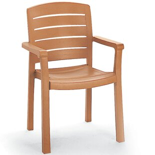 Acadia Stacking Patio Dining Chair (Set of 4)