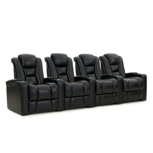 Red Barrel Studio Home Theater Row Seating (Row of 4)