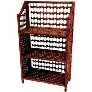Rattan Standard Bookcase by Oriental Furniture