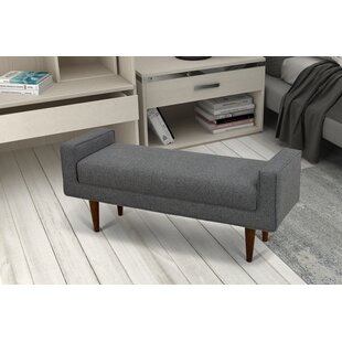 Brice Upholstered Storage Bench by George Oliver