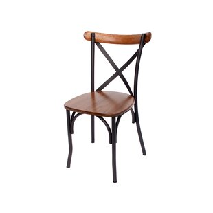 BFM Seating Henry Solid Wood Dining Chair