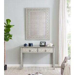 Malcolm Console Table And Mirror Set By World Menagerie