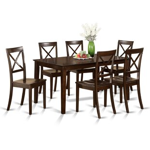 Smyrna 7 Piece Dining Set by Charlton Home Amazing