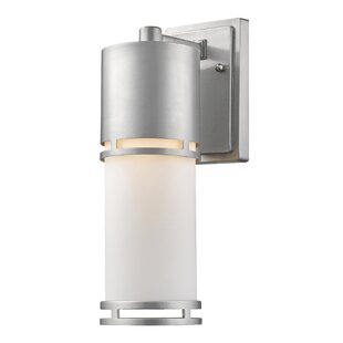 Find Feder 1-Light Outdoor Sconce By Ivy Bronx