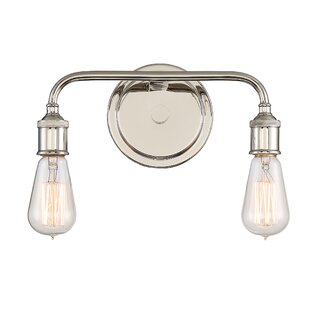 17 Stories Leocadia 2-Light Vanity Light