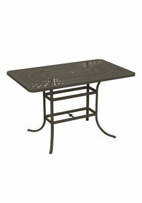 La'Stratta Aluminum Bar Table by Tropitone Sale