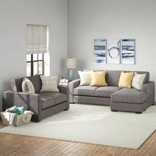 Dematteo 2 Piece Living Room Set by Ebern Designs