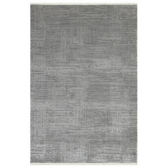 Ebern Designs Nugent Handwoven Charcoal Area Rug Reviews Wayfair
