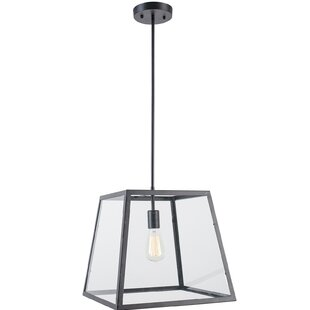 1-Light Square/Rectangle Pendant by Light Society