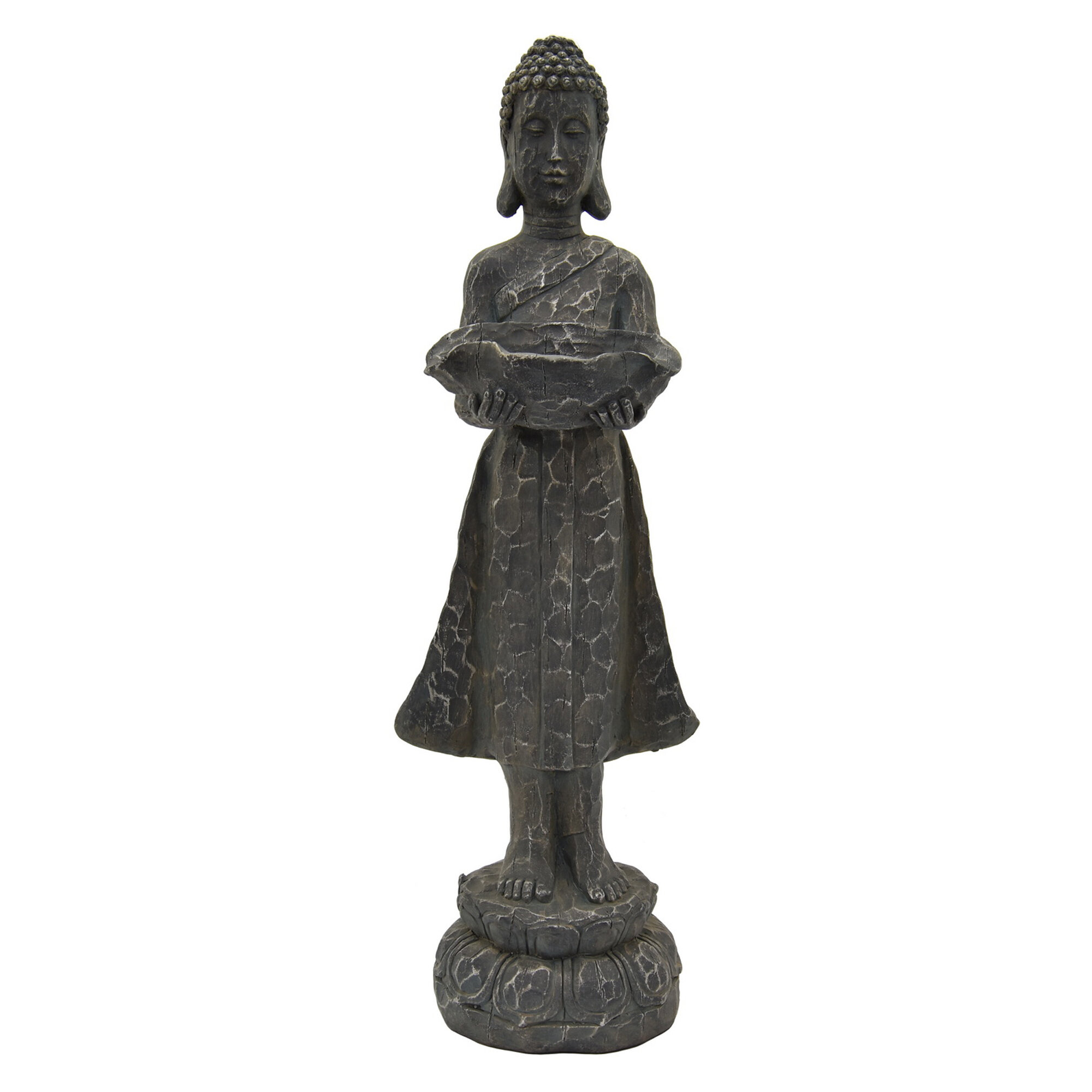 World Menagerie Donavan Buddha Statue Wayfair