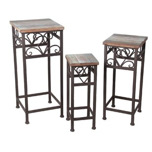Cyrielle 3 Piece Nesting Plant Stand Set by One Allium Way