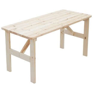 Watauga Wooden Dining Table By Sol 72 Outdoor