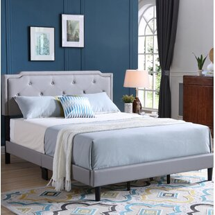 Indianapolis Upholstered Panel Bed by Winston Porter
