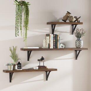3 Piece Wall Shelf Set