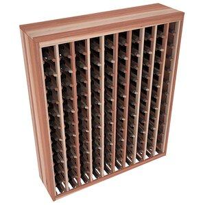 Karnes Redwood Deluxe 120 Bottle Floor Wine Rack..