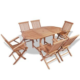 Baugh 6 Seater Dining Set By Sol 72 Outdoor