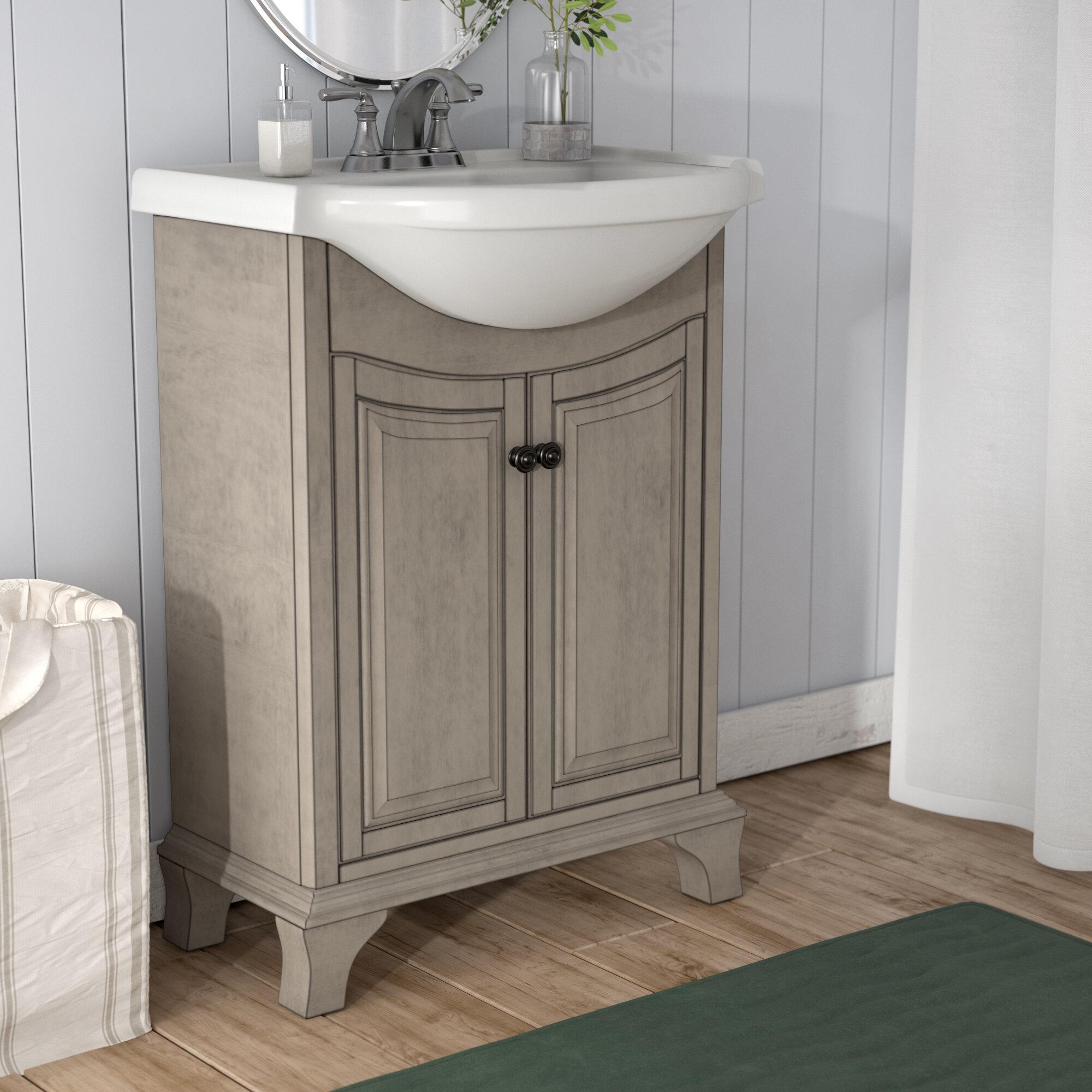 Beachcrest Home Orrick 26 Single Bathroom Vanity Set Reviews Wayfair