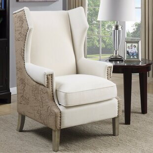 17 Stories Enger Strikingly Suave Wingback Chair