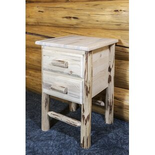 Abordale 2 Drawer Nightstand by Loon Peak