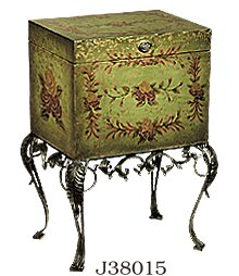 Parisian Garden Chest on Stand