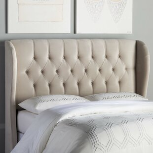 Giada Tufted Upholstered Wingback Headboard