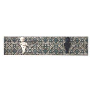Echarkia Wall Mounted Coat Rack By Latitude Vive