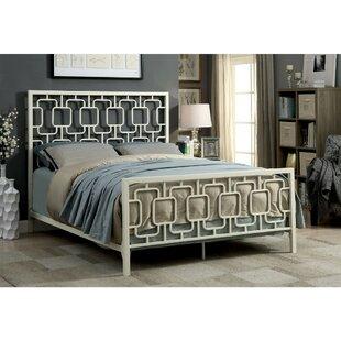 Jerrold Metal Panel Bed by Wrought Studio