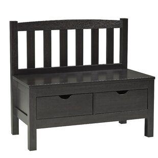 Brassex Wood Storage Bench