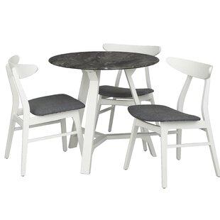 Toussaint Round Top 4 Piece Dining Set
