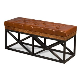 Mixon Leather Bench