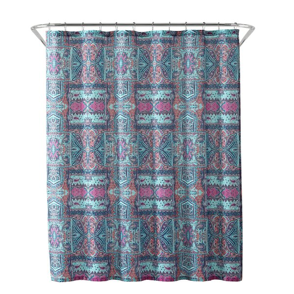 World Menagerie Woodhouse Tribal Bandana Shower Curtain