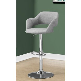 Crick Adjustable Height Swivel Bar Stool by George Oliver Best