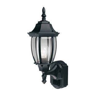 World Menagerie Gladys Coach Aluminum Outdoor Wall Lantern with Motion Sensor