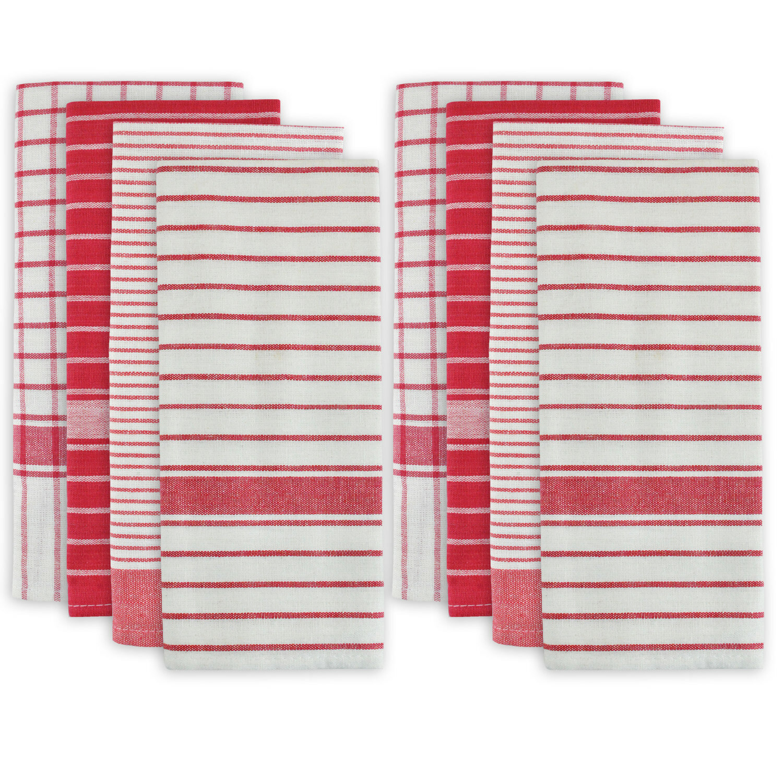 Blue Restaurant Quality Classic Wonder dry Tea Towels cotton pack f 10