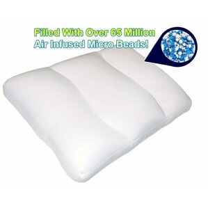 Super Comfy Microbeads Support Polyfill Neck Pillow by Imperial Home
