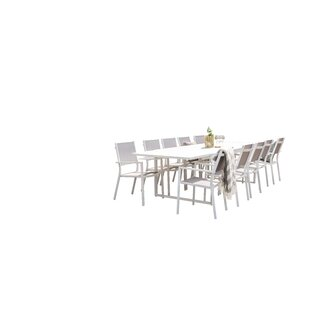 Donelson Dining Set With 10 Chairs By Mercury Row