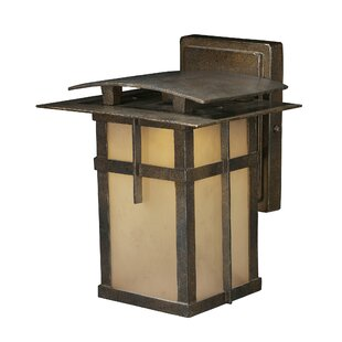 Millwood Pines Skylar 1-Light Outdoor Wall lantern