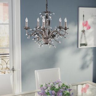 House of Hampton Hesse 5 Light Candle-Style Chandelier