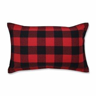 Coats Buffalo Plaid Lumbar Pillow