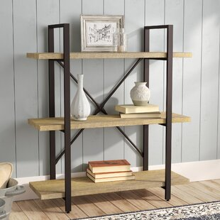Carmine Three Level Etagere Bookcase ByLaurel Foundry Modern Farmhouse