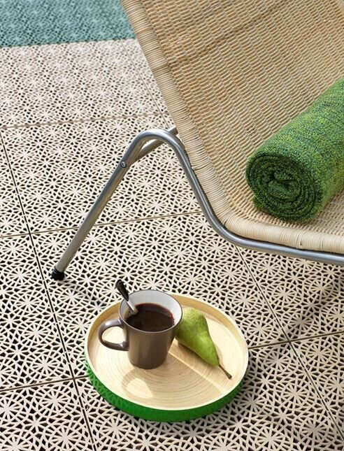 Mats Inc Bergo 14 9 X 14 9 Plastic Interlocking Deck Tile Reviews Wayfair