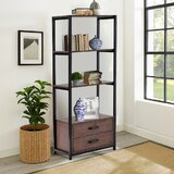 Mulvaney 59.8 H x 23.6 W Etagere Bookcase by 17 Stories