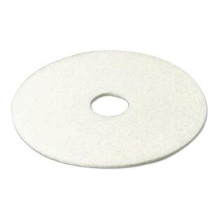 3M Super Polish Floor Pad- White 5 Pads/Carton