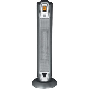1,500 Watt Portable Electric Fan Tower Heater With Thermostat