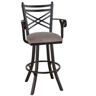 Comparison Howie 34 Swivel Bar Stool by Red Barrel Studio Reviews (2019) & Buyer's Guide