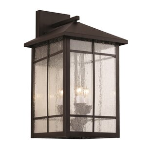 Bell 3-Light Outdoor Wall Lantern