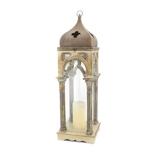 One Allium Way French Church Wooden Lantern