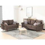 Omar 2 Piece Living Room Set by Charlton Home®