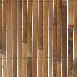 W Rolled Bamboo Fence Panel