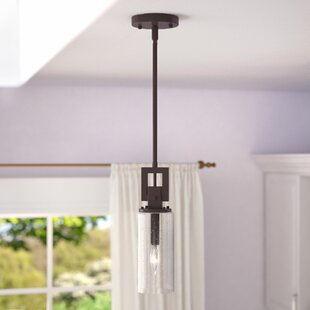 Mccary 1-Light Cylinder Pendant